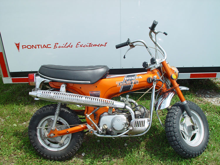 Honda Ct70 In Motorcycles Show Tell