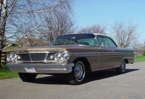 1960 Pontiac Catalina Tudor Sports Coupe